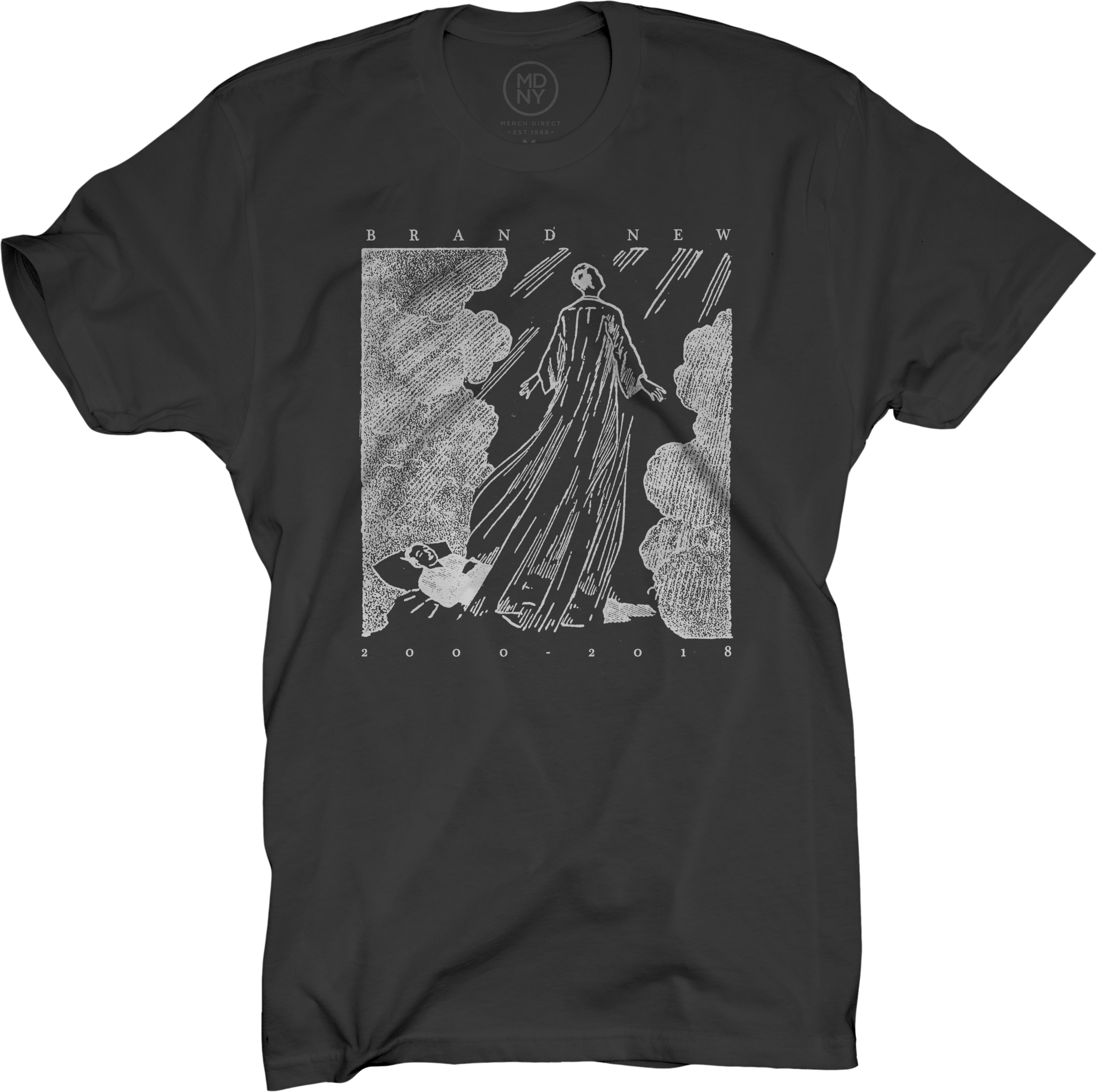T shirt white brand - Resurrection Black T Shirt Brand New
