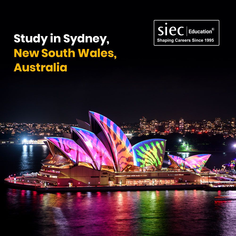 Study in Sydney, New South Wales, Australia. Meet today