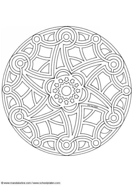 Mandala 1502C - (edupics)