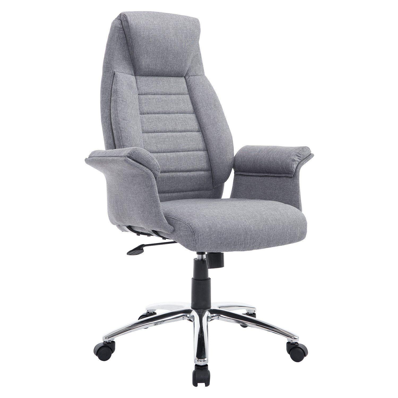 High Back Executive Fabric Office Chair Kreslo Stul Divan