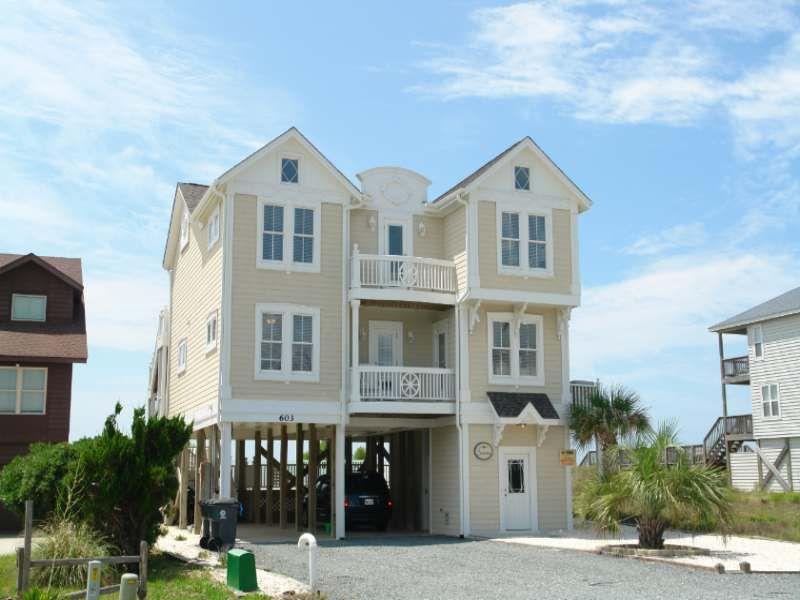 holden beach nc seattitudes 603 a 6 bedroom oceanfront rental rh pinterest com