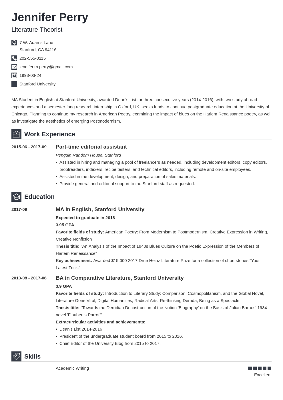 scholarship resume example template iconic in 2020