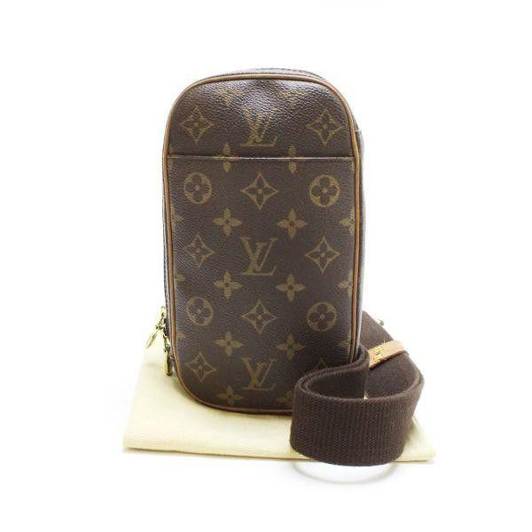 ルイヴィトン Louis Vuitton ポシェットガンジュ モノグラム ボディバッグ M51870