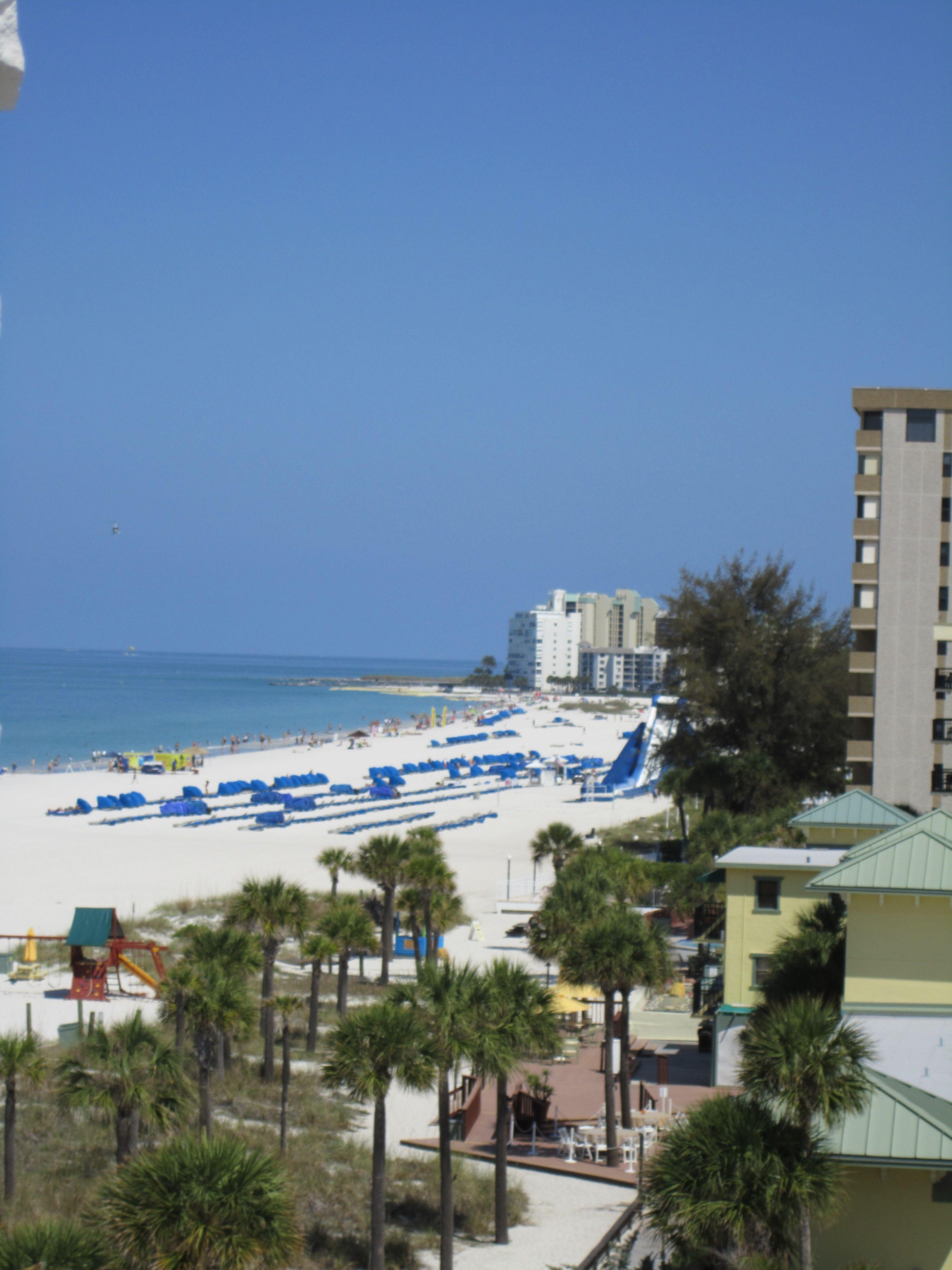 At The Grand Plaza Hotel, St. Pete Beach, Florida. Balcony
