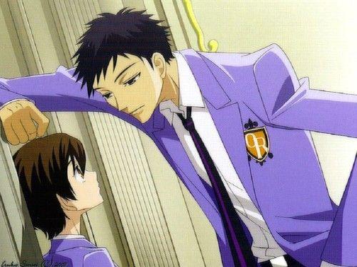 Mori Flirting With Haruhi High School Host Club Ouran High