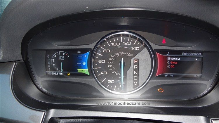 Ford Edge Suv St Generation U Instrument Panel With Digital Speedometer And Rpm Meter