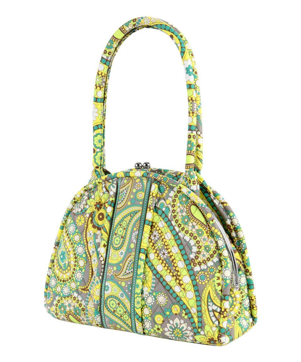 Another great find on #zulily! Lemon Parfait Eloise Shoulder Bag by Vera Bradley #zulilyfinds