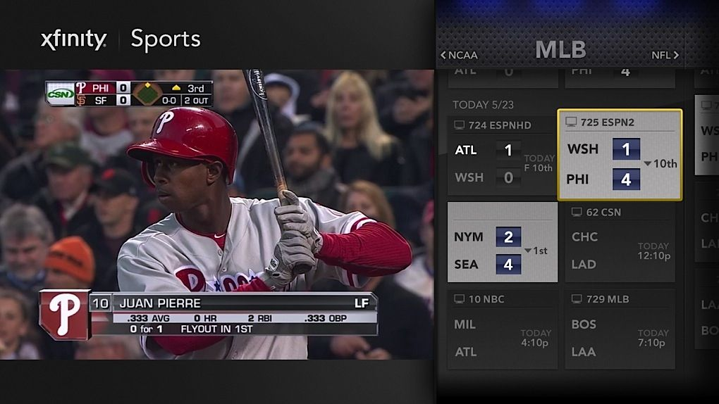 Comcast's new X1 UI integrates real-time and streaming TV