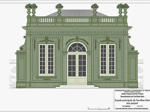 The Devoted Classicist Pavillon Frais Restoration Architectural