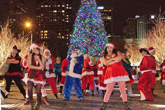Scenes from the Dallas Santa Rampage 2012 - Dallas Observer Party