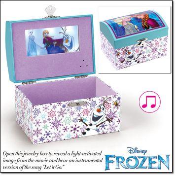 Avon Disney Frozen Magical Jewelry Box The perfect jewelry box to