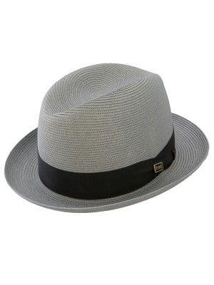 Dobbs Parker - Straw Fedora Hat in 2019  3e00855c3f8