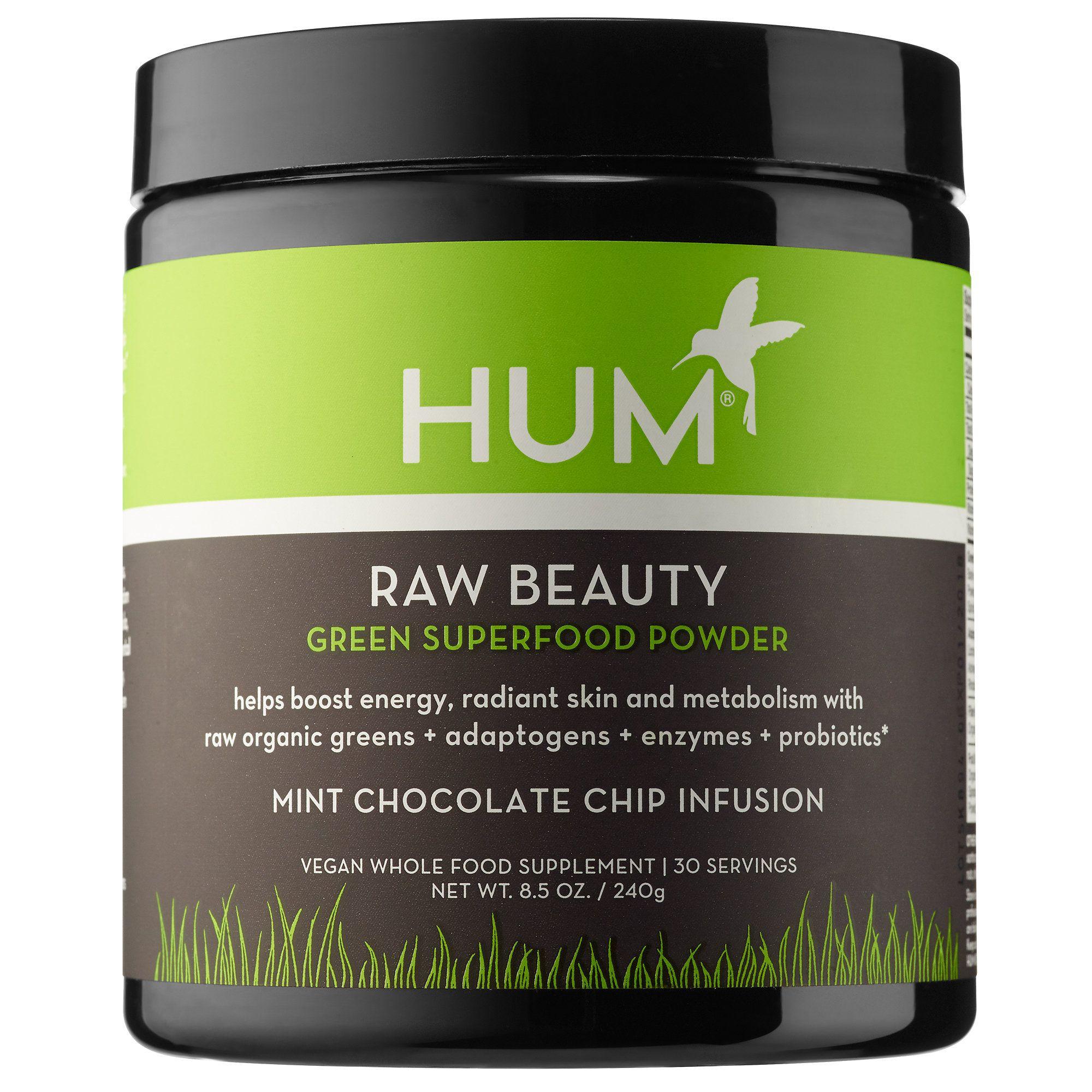 Raw Beauty Skin Energy Green Superfood Powder Hum Nutrition Sephora Green Superfood Powder Green Superfood Hum Nutrition