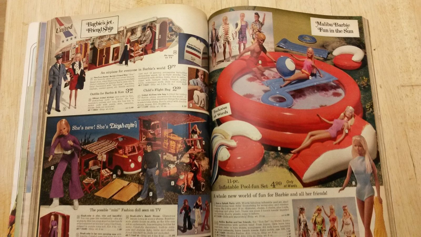Vintage Montgomery Ward 1973 Christmas Catalog 70s Fashion