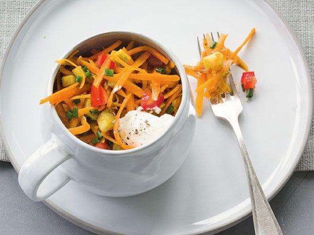 Kürbis-Rezepte: Kürbissalat mit Tomaten