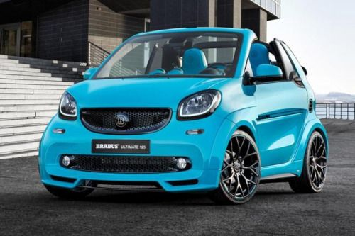 Brabus Turns Smart Fortwo Into Ultimate 125 Pictures How To