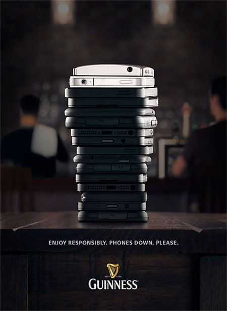 What a clever Guinness ad