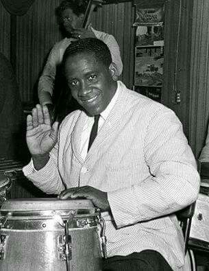 "Cuban legendary percussionist Ramón ""Mongo"" Santamaría..."
