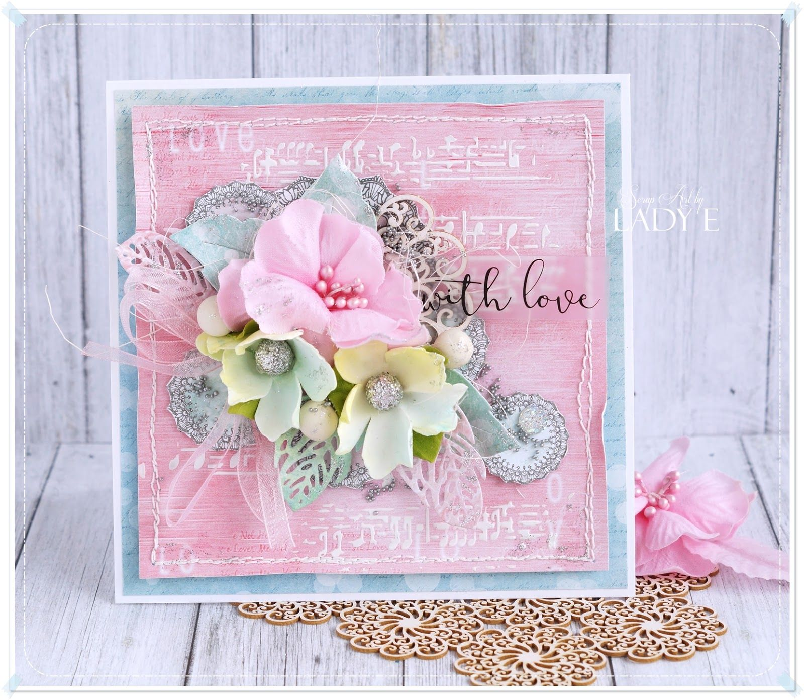Scrapbooking handmade cards and papercrafts by lady e vintage