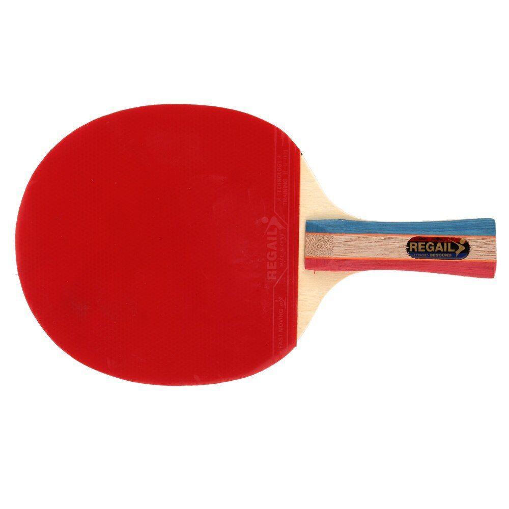 1pc Long Handle Shake Hand Professional Table Tennis Rackets Ping Pong Pingpong Racket Paddle Bat With Case Bag Lo Table Tennis Racket Table Tennis Ping Pong