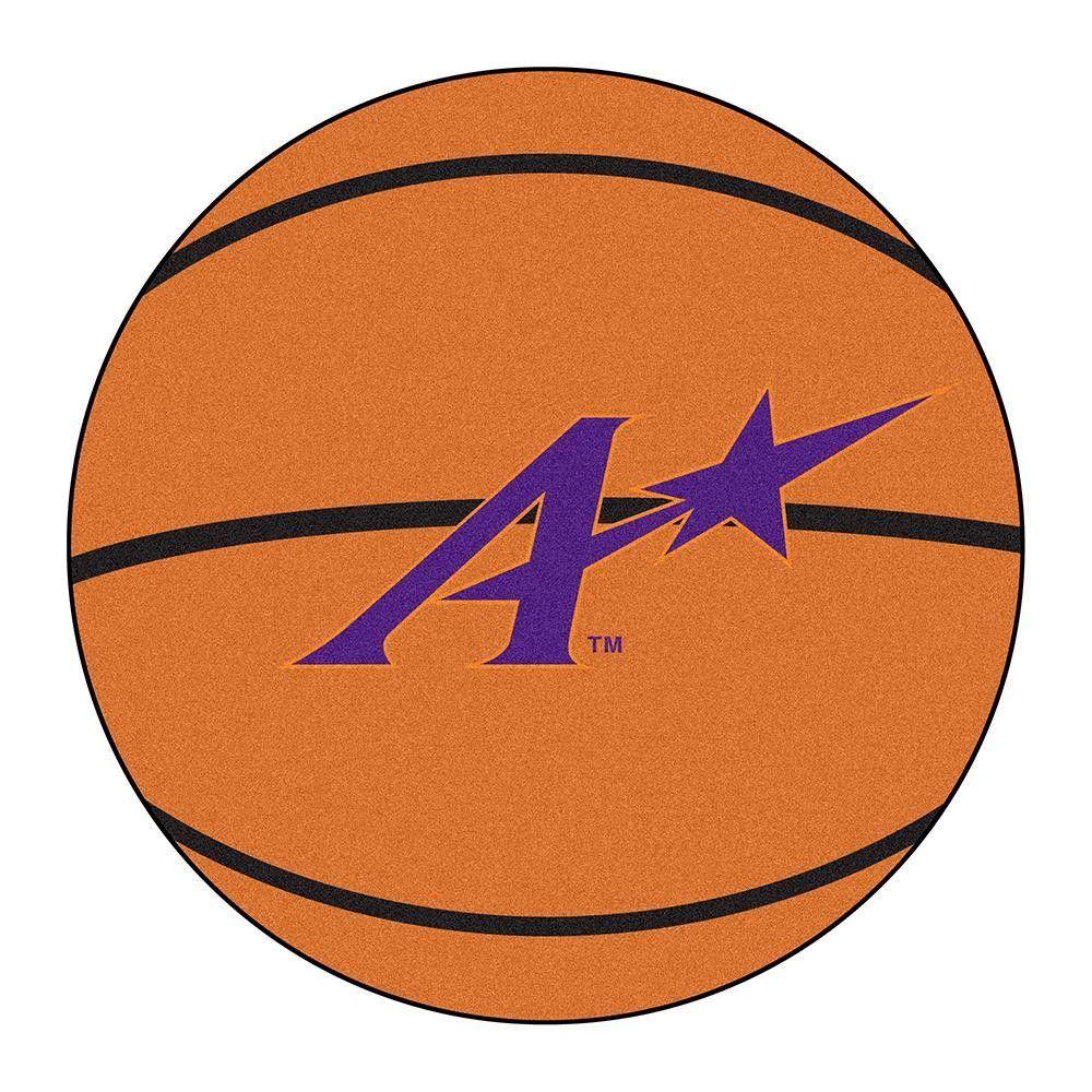 Evansville Purple Aces NCAA Basketball Round Floor Mat (29)