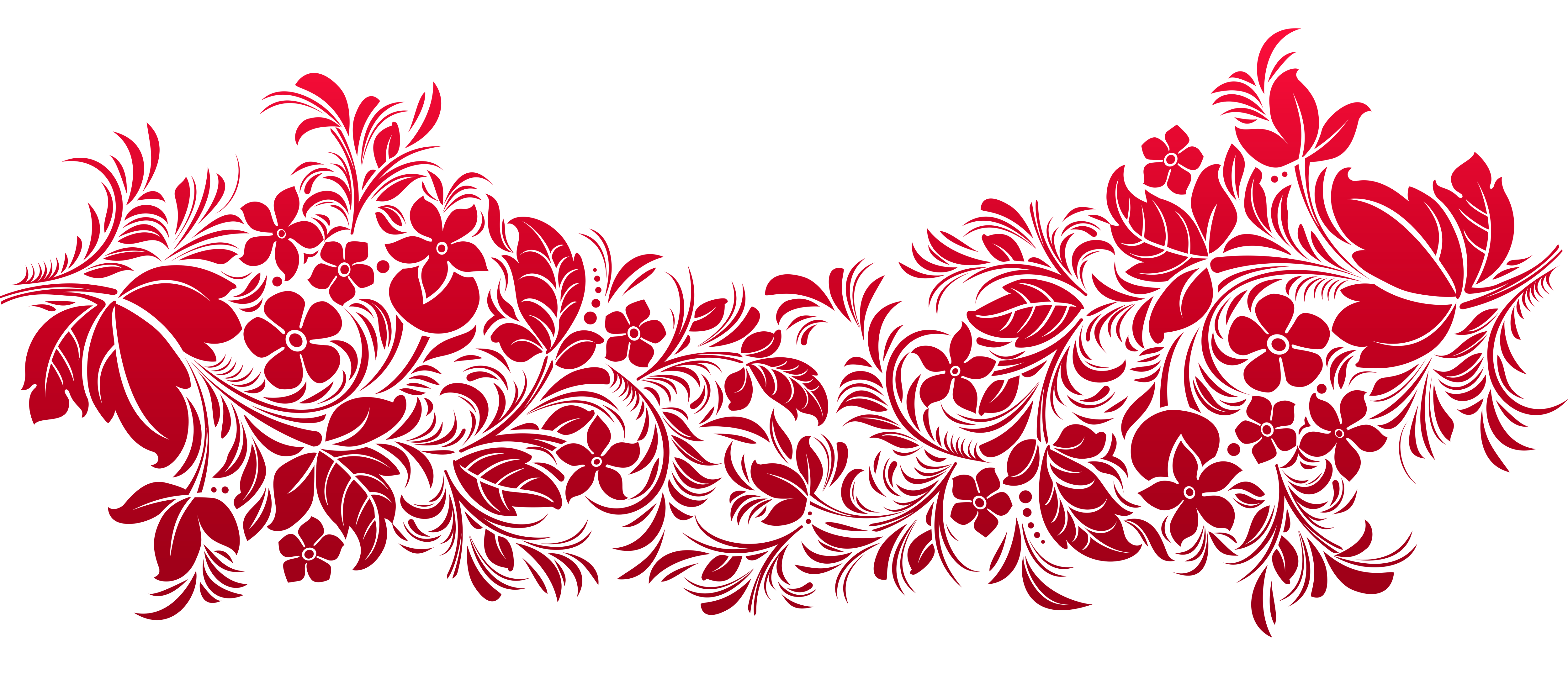 Red Transparent Decoration PNG Clipart Gallery