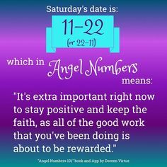 Angel Numbers 101: 1122 or 2211 | Doreen Virtue | Numerology