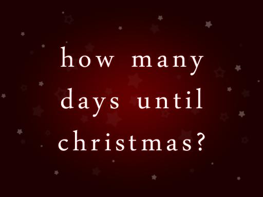 Christmas Countdown 2012!