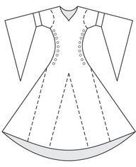 Free Medieval Sewing Patterns   Renaissance Sewing Patterns