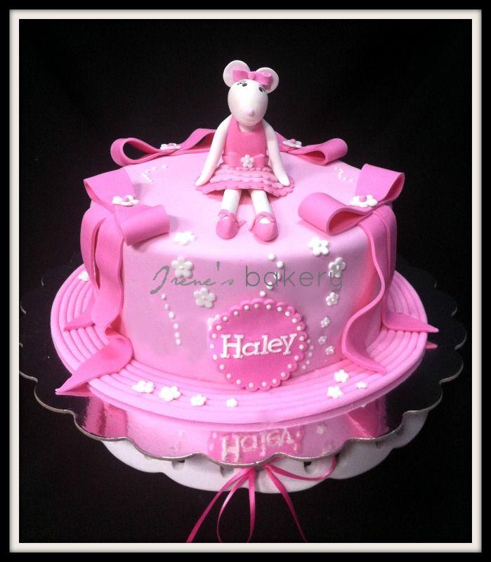 Angelina ballerina cake Irenes bakery Pinterest Angelina