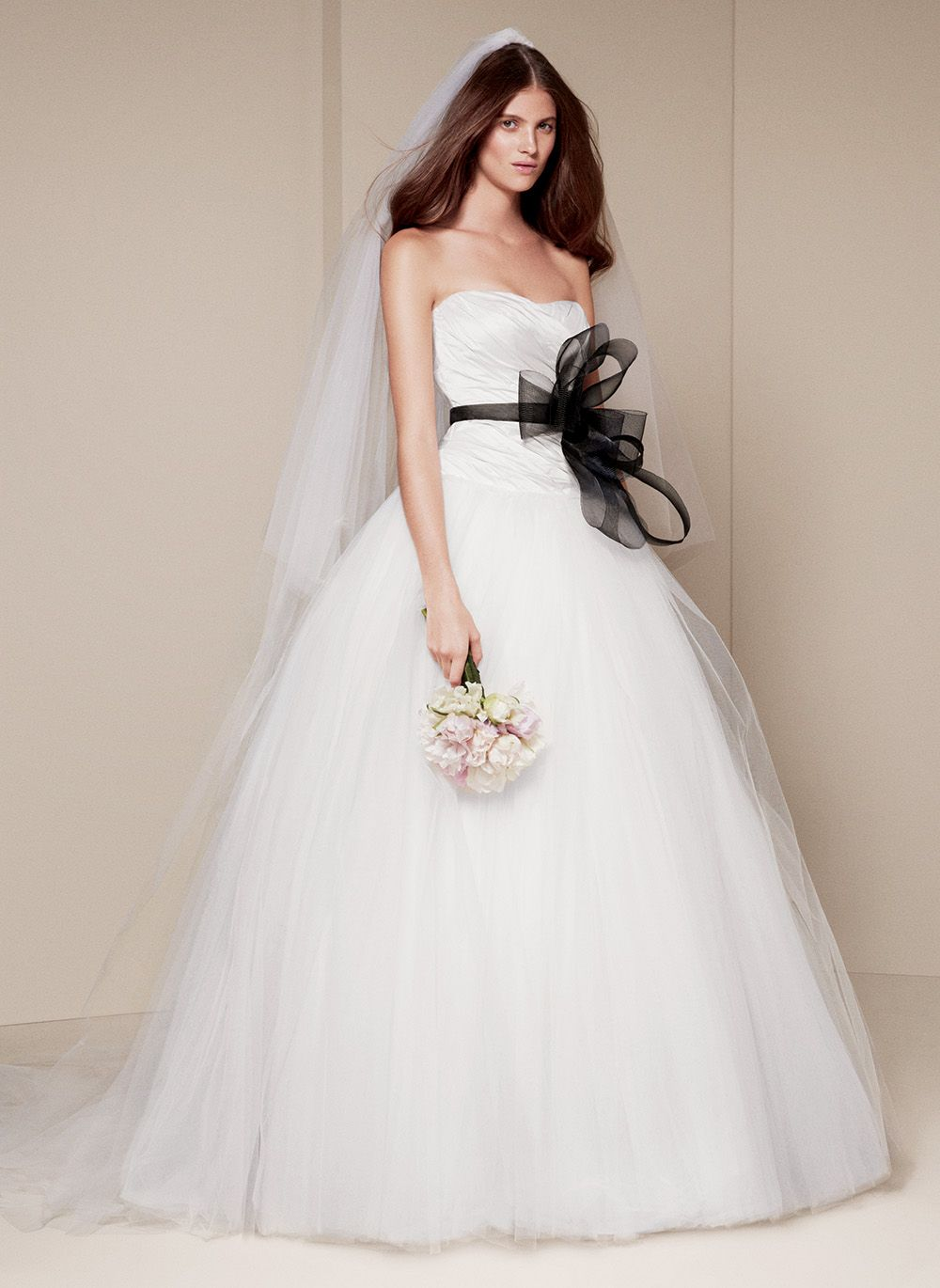 White by vera wang wedding dresses ball gowns gowns and wedding dress
