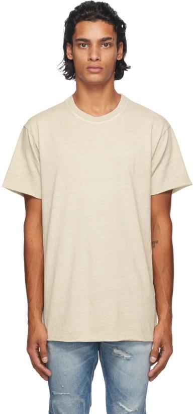 John Elliott: Taupe Anti-Expo T-Shirt | SSENSE