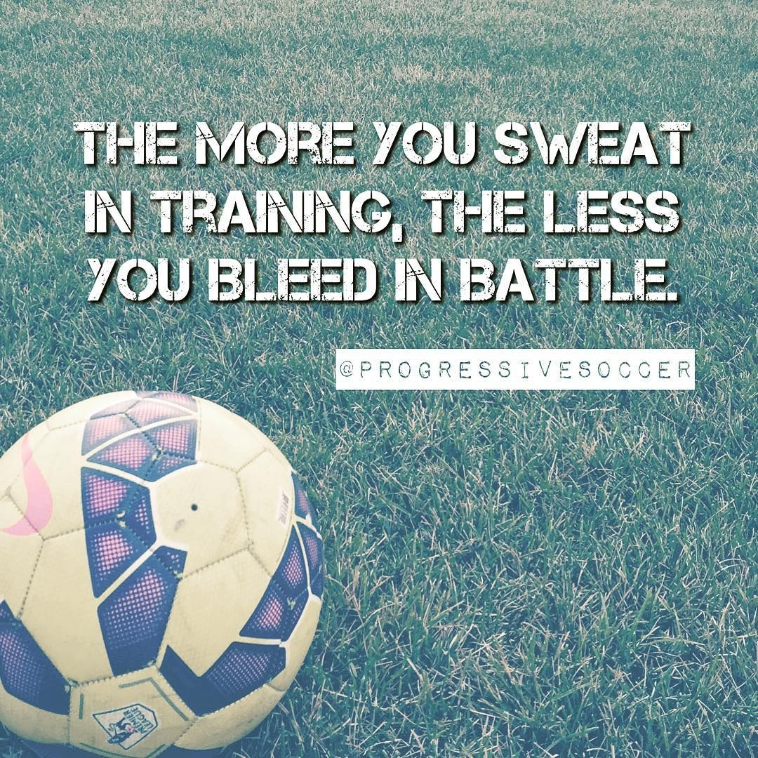 Make Your Training Hard And The Game Becomes Easy Soccer Quotes Soccer Soccer Motivation