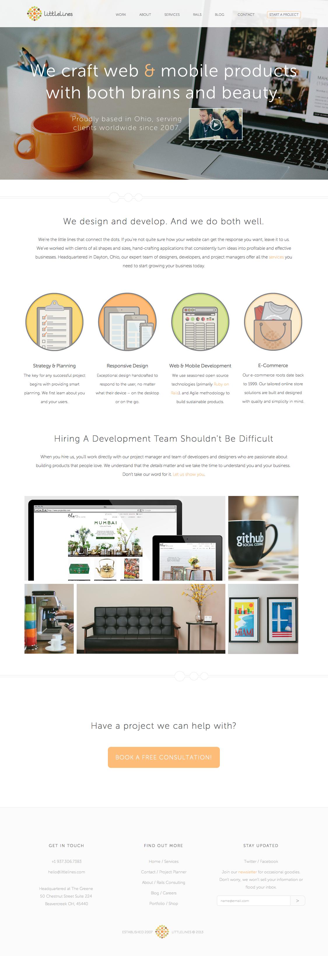 Http Littlelines Com With Images Interactive Design Wellness Design Web Design Inspiration