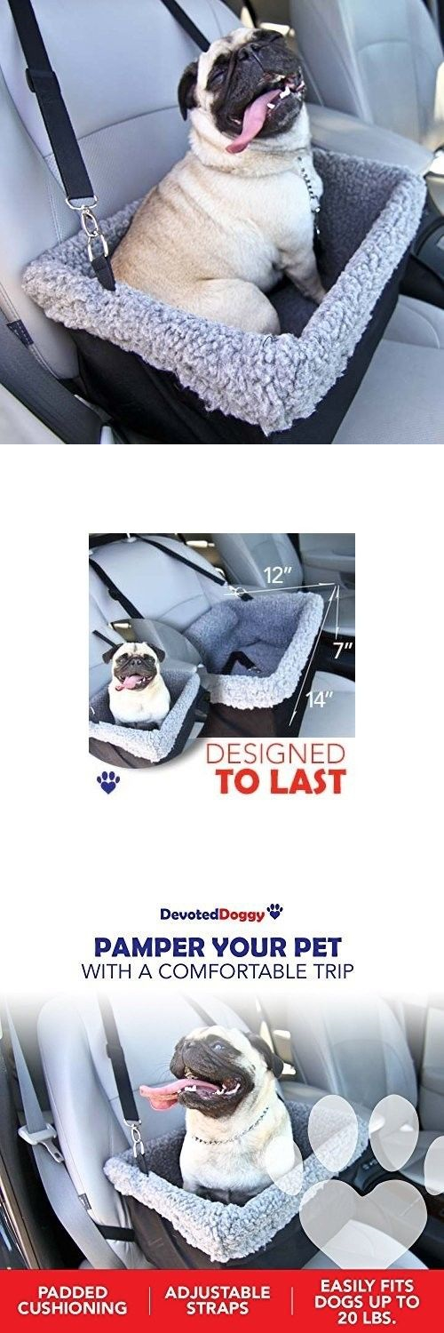 Car Seats and Barriers 46454: Dog Car Seat Booster Safety Leash Protect Small Medium Pets Up To 20 Lbs BUY IT NOW ONLY: $34.99