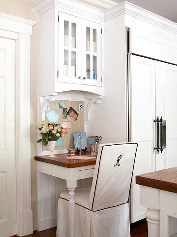 Kitchen Workstation Ideas Work Space Kitchen Desk Areas Kitchen