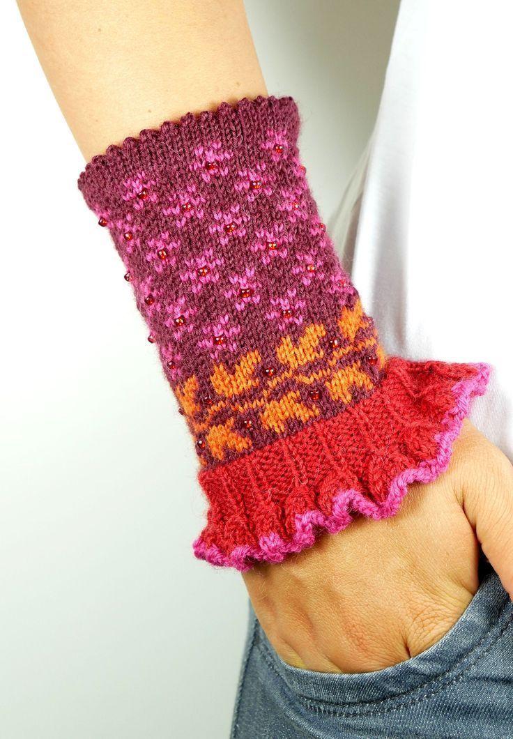 Photo of # Handgelenkwärmer # Armstulpen # Trikotées # Strick # Impulswärmer