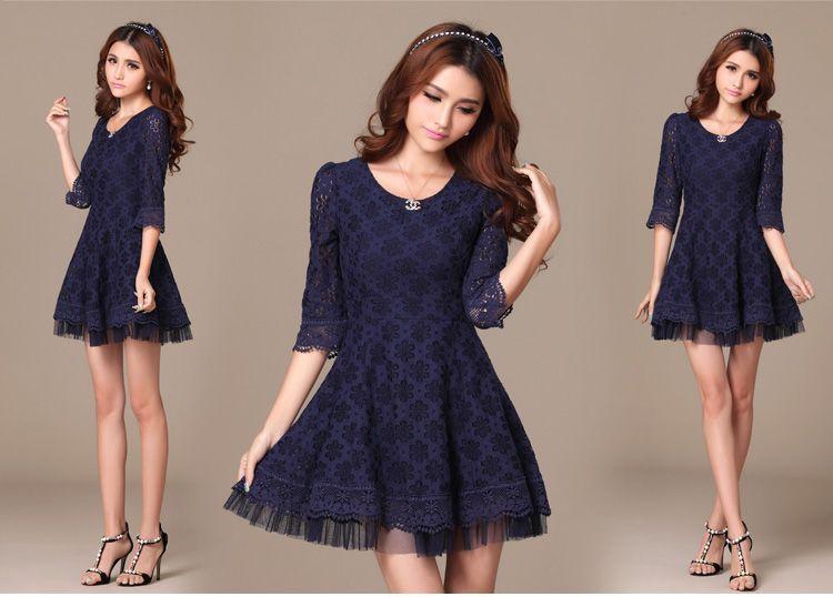 2014 Spring Fashion Collection Dress 1967 - Dresses - korean japan fashion clothes dresses wholesale women
