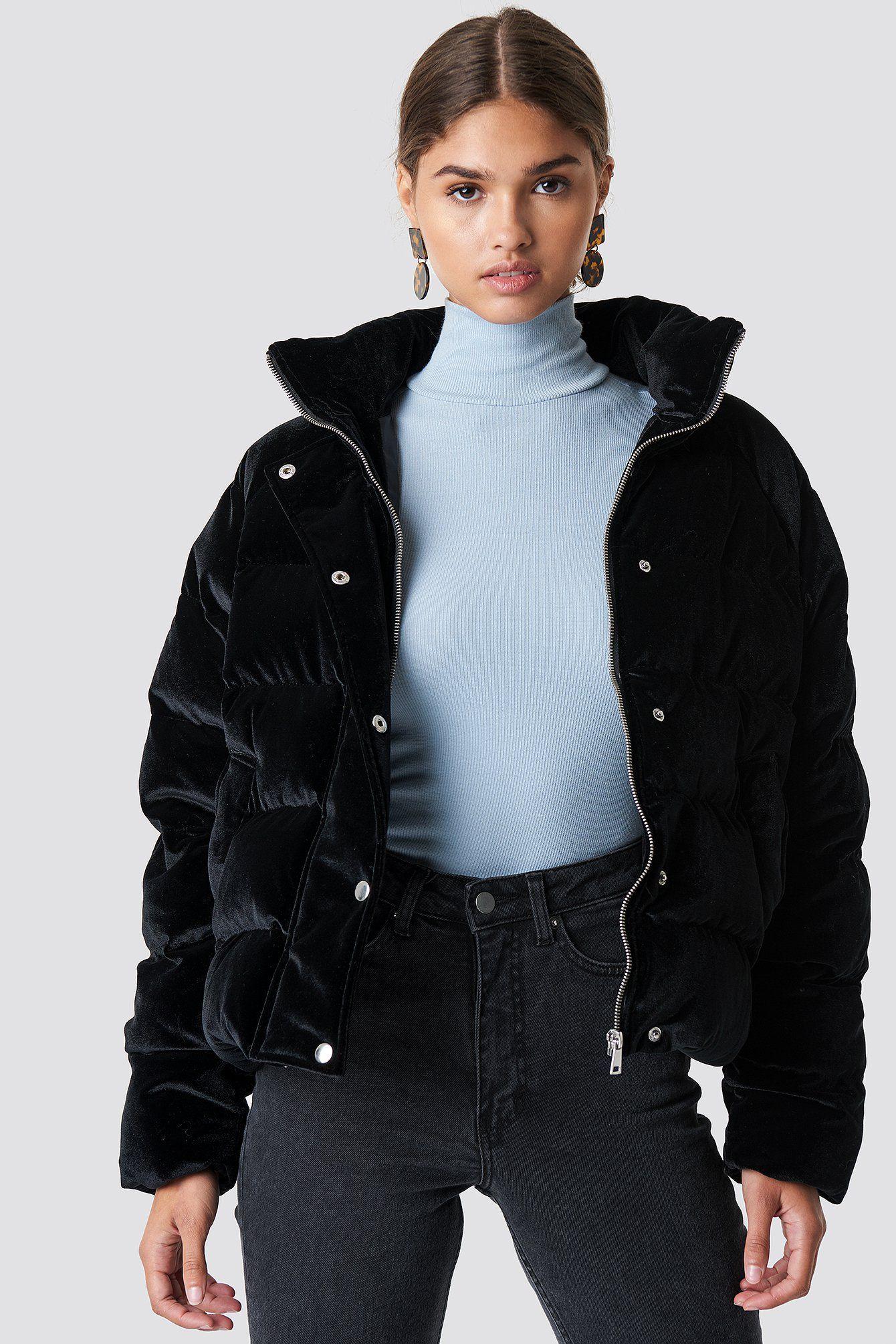 Na Kd Velvet Puffer Black Affiliate Link Stylische Puffer Jacke Wintermode Winterjacke Fashion Winte Puffer Jacket Outfit Black Jacket Outfit Fashion [ 2010 x 1340 Pixel ]