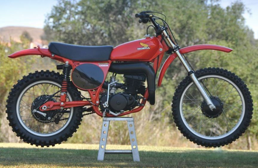 Never Started 1976 Honda Cr250 In 2020 Honda 2 Stroke Dirt Bike Mx Bikes