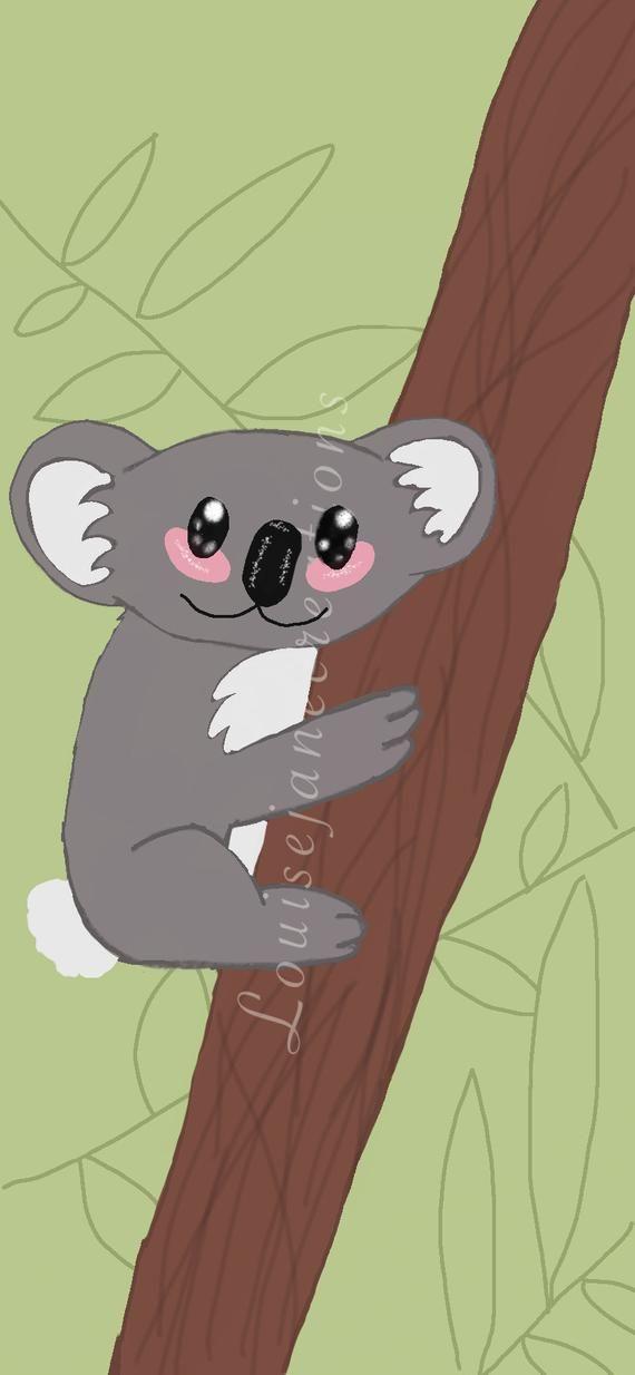 Photo of Koala Tier Telefon Hintergrund, niedlichen Telefon Hintergrund, niedlichen Tier Design für Handy Wallpaper, iPhone