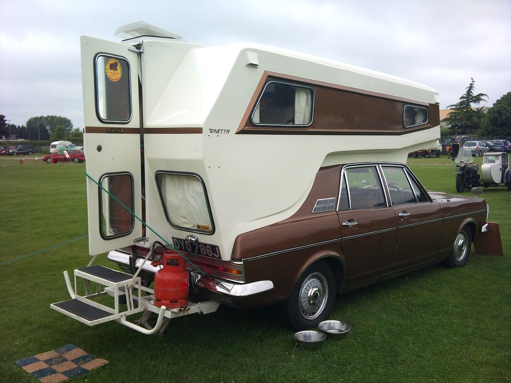 How cool is this ginetta car camper it is built off a 1970s