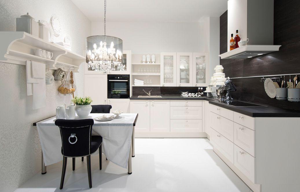 Pin By Furni House On Kuchnie Nolte Klasyka Modern Kitchen Layout Contemporary Modern Kitchen Kitchen Design