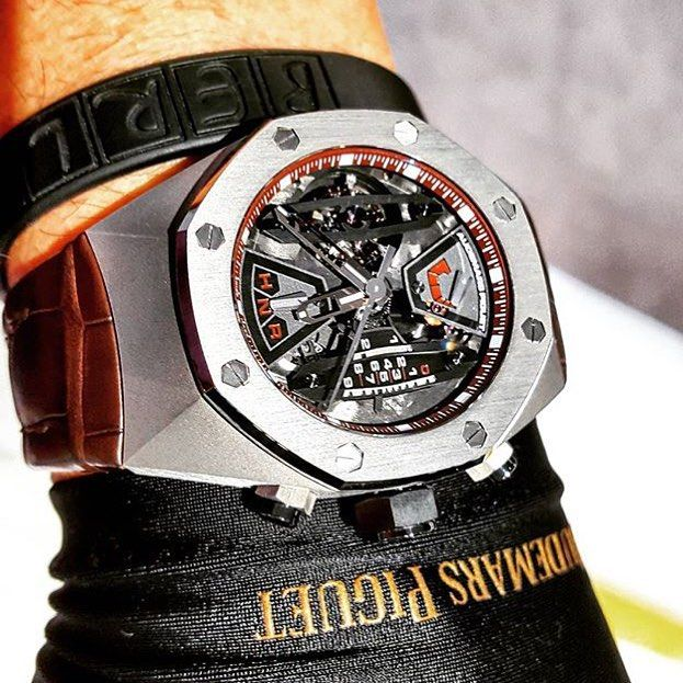Audemars Piguet Royal Oak #concept chronograph 44mm by @watchphil by mr.chrono