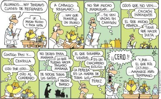 Los Refranes Refranes Gaturro Tiras Comica
