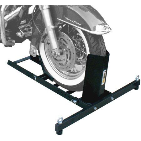 MaxxHaul 70271 Adjustable Motorcycle Wheel Chock Stand Heavy Duty 1800lb Weight Capacity – Walmart.com