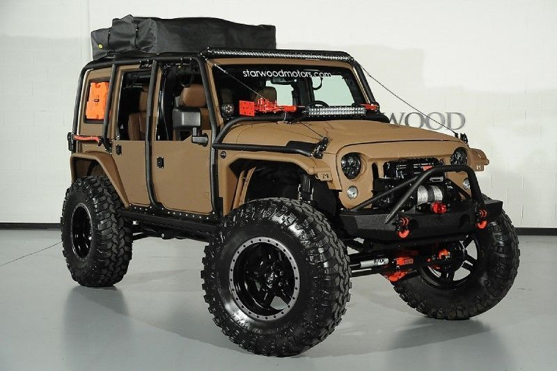 2015 Jeep Wrangler Unlimited Rubicon Nomad built by Starwood