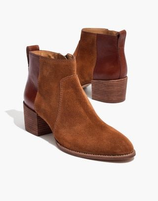 d9c88008860 Madewell Womens Asher Boot In Suede And Leather   Wishlist   Boots ...