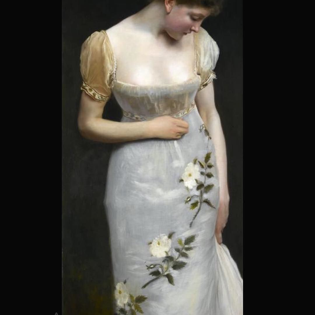 #gustavejacquet #jacquet #mademoiselle #1876 #indumentaria #artcrop #artdetail #artfashion by artgarments