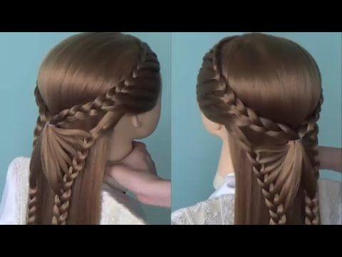 peinado facil para cabello corto peinados con trenzas peinados faciles y bonitos youtube